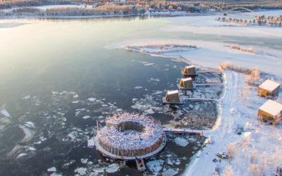 Destination article – Look Inside Sweden's Spectacular New Floating Hotel | Architectural Digest